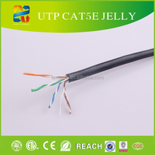 2015 Hot sell 4PR 24awg utp cat 5e lan cable with CE/ROHS Certificates