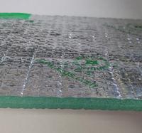 Fireproof Function Heat Resistance Aluminum Foil Faced Foam Reflective Aluminum Foil