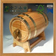Hot sale wooden beer barrel/ wine barrel for bar
