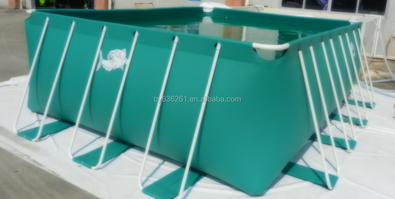 flexiblem kunststoff fischteich für fischfarm, outdoor pvc, Garten und erstellen