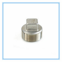 Cangzhou Stainless Steel Square Pipe Plug Adapter