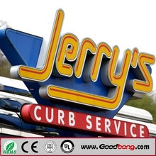 Customed acrylic 3D LED Lighted Outdoor Sign Letters