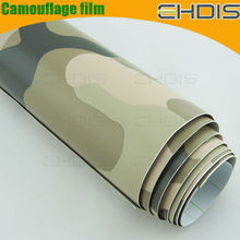 personalize your car camouflage adhensive filmcamouflage ornamental with air free bubble