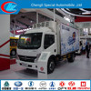 China Exported refrigerated light truck 4*2 refrigerated mini truck dongfeng refrigerated mini van