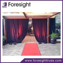 Pipe and drape stands/ kits/hardware in round,roof tent and straight for decoration
