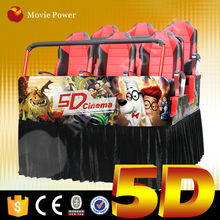 With quality assurance 5d cinema seat platform