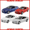 1:32scale metal toy model car with display cabinets