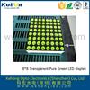 5*7 yellow green led dot matrix hot sale product