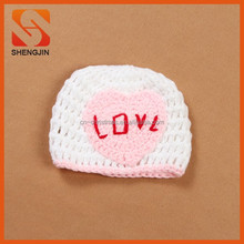 SJ-6313 New Year Product Fancy Wool Children Knit Hats Character Knitted Crochet Baby HAT 2015