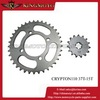 Motorcycle Chain Sprocket for Bajaj Discover 135 Chain sprocket kit