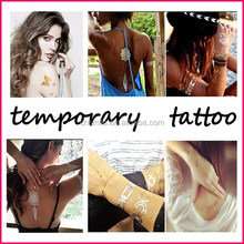 obsede new body art sexy adhesive temporary tattoo sleeve stencil