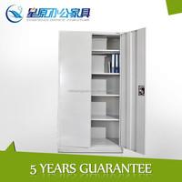 DIY assemble full height metal 2swing open door adjustable shelves storage shaw walker fireproof file cabinet