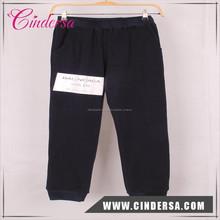 venta al por mayor de los hombres pantalones de algodón de punto mujer pantalones de moda