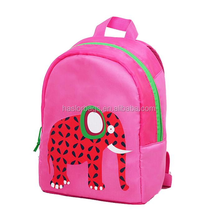 Conception de personnage de dessin animé sacs d'école pour filles