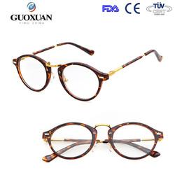 fashion acetate big round frame spectacle optical glasses frame