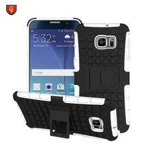 Mobile phone Shockproof Rugged Hybrid Kickstand PC TPU Case For Galaxy Note 5 edge