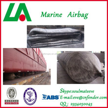 shandong longao -Marine equipment part (1.8m*20m*6layers) ship launching airbag/salvage airbag