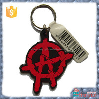 custom keychain pvc business cards with pick