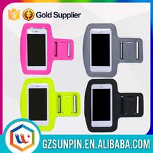 China manufacturer wholesale neoprene reflective mobile phone sport armband