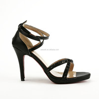 European American Night Club Sexy Korean Allmatch Platform Rivets Thin Heel Sandals Office Ladies OL Shoes