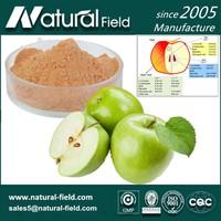 High quality 80% polyphenol green apple peel extract