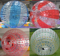 large outdoor roll inside inflatable ball for adults and kids