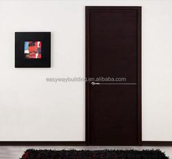 black primed wooden interior door designs