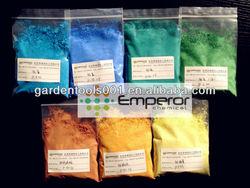 Cadmium pigment(yellow, orange, red), Enamel pigment