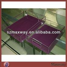 hot sell fashionable beverage acrylic tray