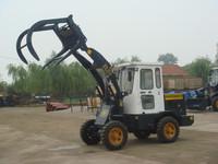 front end wheel loader parts sugar cane grab loader