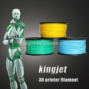 Abs pla 3d imprimé. filament 1. 75mm 3mm 21 couleurs 1kg( 2. 2lb)/bobine.