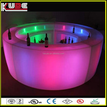 modern LED light design outdoor used home bar furniture for party/ wedding