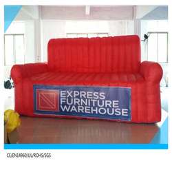 china factory advertising giant inflatable sofa