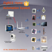 2014 TYT remote control smart home control Zigbee large capacity complete smart home automation system