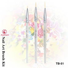 3pcs/set nail art lin drawing pen