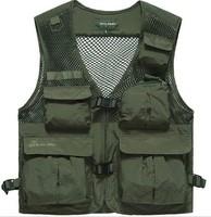 Men custom fishing vest