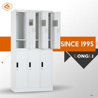 2015 hot sales swimming pool cabinet/six doors steel locker/steel wardrobe locker