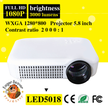 excellent projector and rechargeable projector 1080P led lamp lcd panel with bluetooth