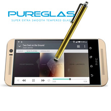 1 year Replacement Warranty Pureglas tempered glass screen protector for htc one m9,mobile phone for htc one m9 protective film