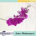 Real touchlong stem PU material phalaenopsis tipo atacado flores da orquídea