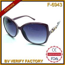 F-6943 progettato su misura cornici in plastica moda donna occhiali da sole fashion style made in china
