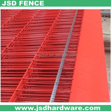 BV Certificated PVC Coated Collectable Temporary Construction Fence