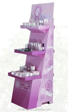 cardboard display stand for cosmetic promotion