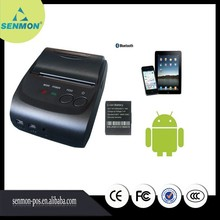 2Inch Standby Time 5~7 days Android 4.2.2 Bluetooth Wireless Mobile 58mm Mini Thermal Printer Portable with SDK SM-5802BL