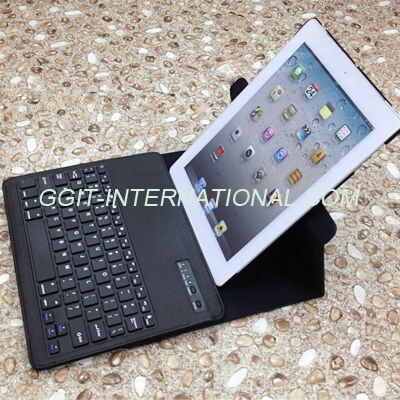 New Products Rotating ABS Keyboard For iPad 4 Bluetooth Keyboard
