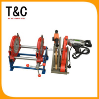 two rings manual 160mm ppr pipe welding machine tool