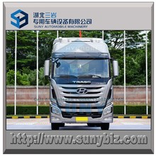 3 wheels HYUNDAI bogie drive tractor truck