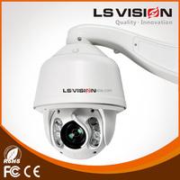 LS VISION auto motion tracking ptz camera infrared 30x ptz ip camera 120 meter ir distance cctv camera