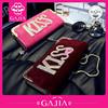 Korean fashion wholesale purses of kiss ladies purse in alibaba china