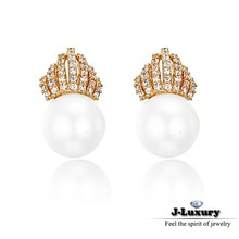 Princess accessories jewelry gold earrings pearl